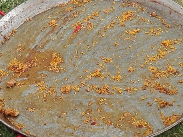 Paella animada